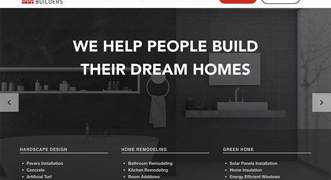 Website for Colossal Builders