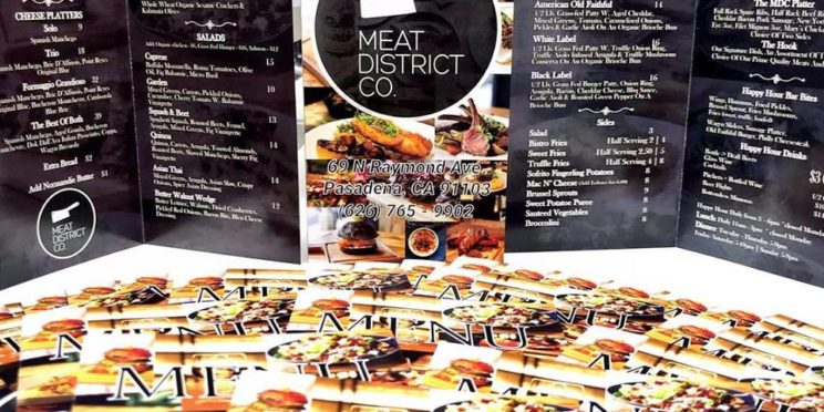 Menu for Meat District Co